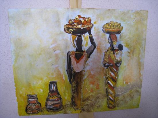 Belles Afrique.   ( 30 x 24 )