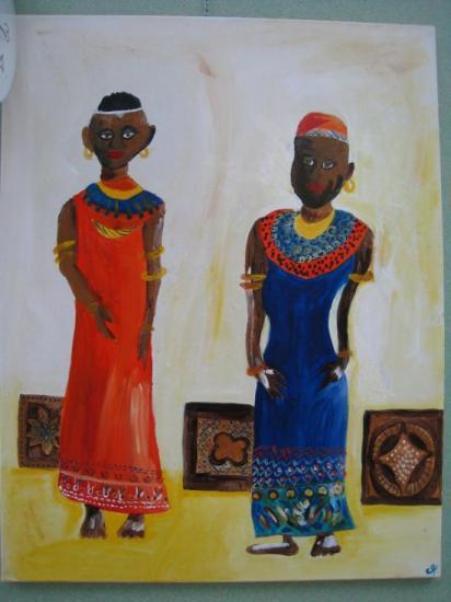Africa.   ( 90 x 70 )