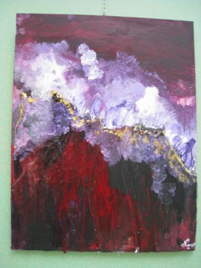 Montagnes.   ( 90 x 70 )